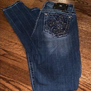 Miss Me size 28 skinny jeans